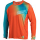 Leatt Brace DBX 4.0 Ultraweld Jersey Men Orange/Teal